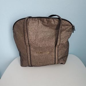 Victoria Secret sparkly travel overnight bag